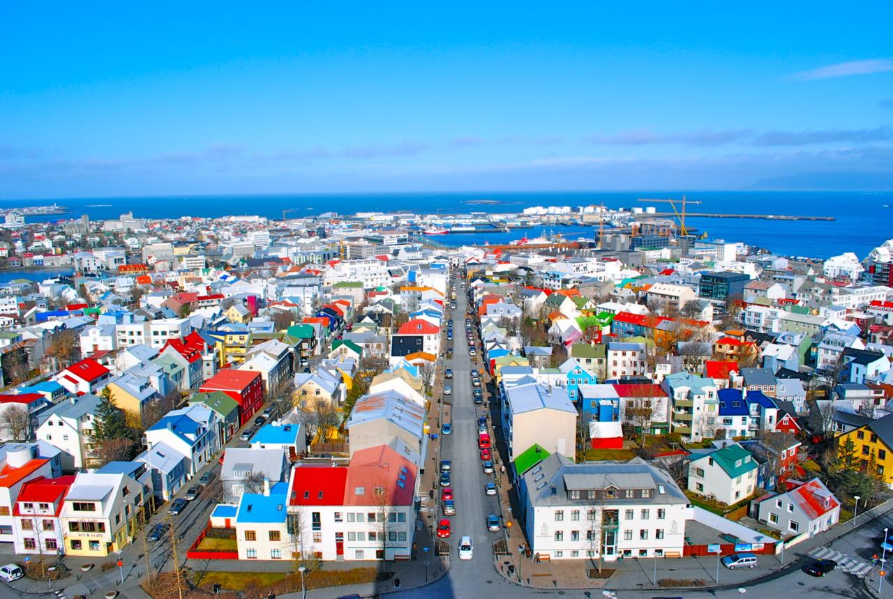 islanda Reykjavik
