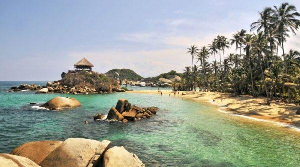 colombia spiaggia